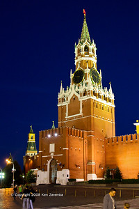 The Kremlin's Spasskaya Tower